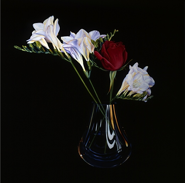 3-Freesias-With-A-Rose